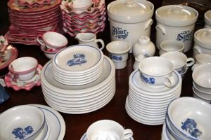 Kitchenware is just one of the seemingly endless list of items in the Danville Trading Post's inventory.