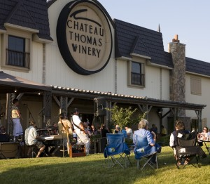 Music on the Veranda at Chateau Thomas Winery