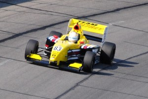 Gustavo Menezes finished 6th in the Star Mazda Series race.