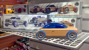 Automoblox are just one of many unique and fun toys for sale at Wilbur's Lincolnwood Toy Store in Brownsburg.