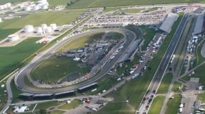 Lucas Oil Raceway from above.