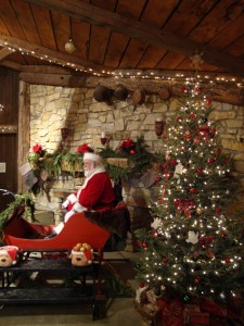 Make sure to visit Santa during Christmas at the Orchard.