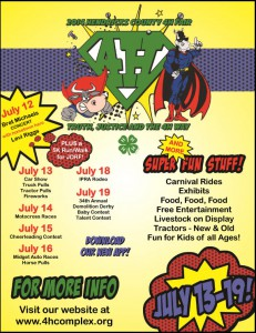 2014 Hendricks County 4-H Fair starts July 13th