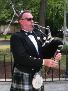 If you need a kilted bagpiper for your special event, contact Essex Art ABC in Plainfield. (Photo courtesy of Essex Art ABC LLC's Facebook page.)