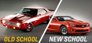 Are you old school or new school? You'll be able to see all five generations of Camaros at Camaro5 Fest IV.  (Photo courtesy of Chevrolet)