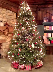 Christmas at the Orchard is an annual tradition in Hendricks County.  (Photo courtesy of Beasley's Orchard)