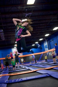 Let your kids bounce off the walls -- literally -- at Sky Zone Indoor Trampoline Park in Plainfield.
