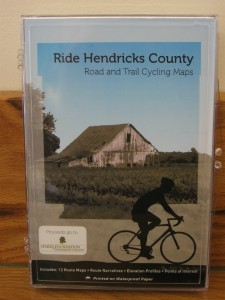 Pick up a Hendricks County Bike Map today.