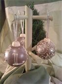 Chocolate ornaments from Confection Delights.