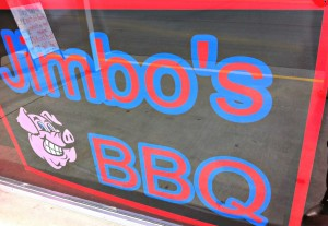 Jimbo's BBQ located in Pittsboro