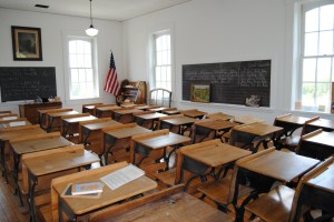 Classroom from the 1800s