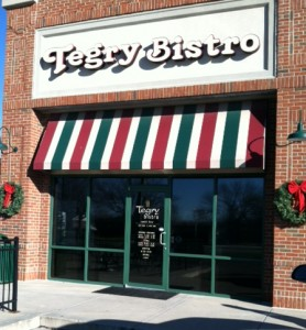 Tegry Bistro, 1521 N. Green Street, Brownsburg, Indiana