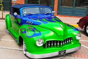 This was one of my favorite hot rods at the May 3 First Friday Cruise-In.