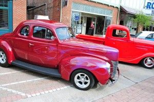 There is a wide variety of classic vehicles to explore.  You can't do it all in just one First Friday.