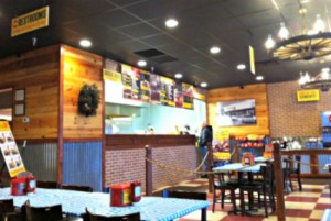 a peek inside Dickey's Barbecue Pit