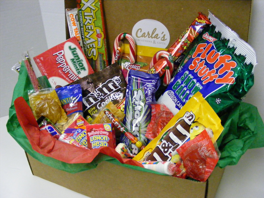 personalize that christmas present with a custom gift basket from carlas