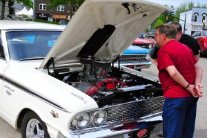 Got a question about a classic car that you see at First Friday Cruise-Ins?  Just ask the owner!