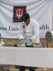 The IU Health West chefs will feature Healthy Meals from the Farm to the Table July 15-18th at the Hendricks County Fair.