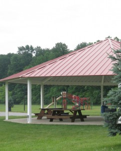 Picnic shelter at Williams Park.