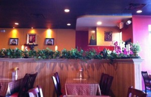 inside Thai Orchid in Plainfield