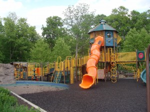 Playground at Avon-Washington Township Park in Avon, Indiana