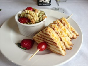Savor Thyme Cafe in Brownsburg, which offers up dishes like this Ultimate Grilled Cheese is the newest Hendricks County member featured by Indiana Foodways.