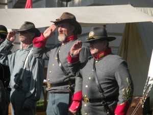 Come see a Civil War living history camp.