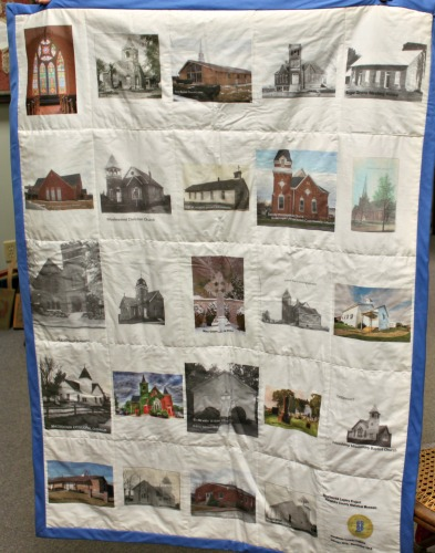Local Church Bicentennial Quilt