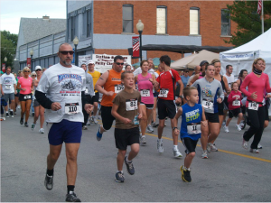 Runners of all ages are welcome in the Old Fashion Days 10K in North Salem. (Photo courtesy Old Fashion Days)