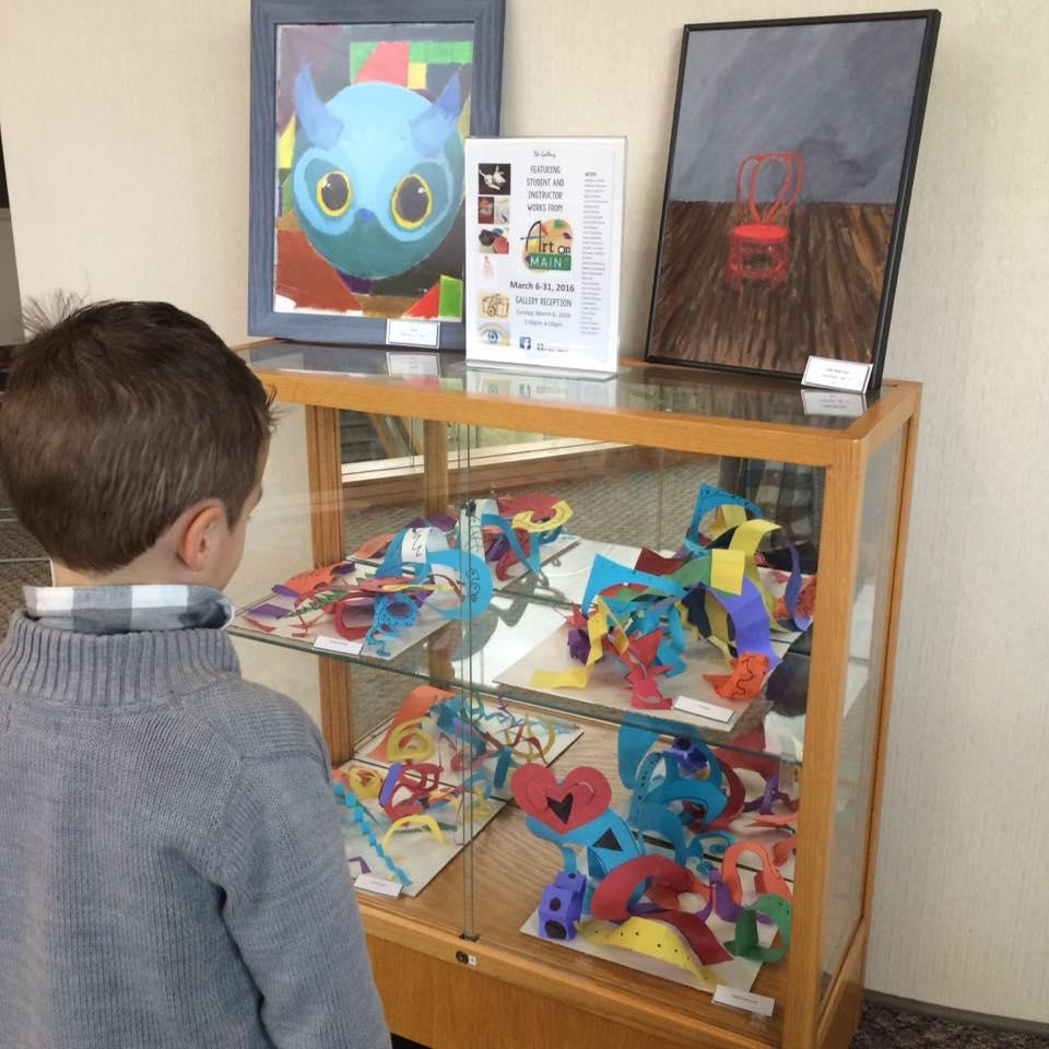 Art Display at Art on Main Show