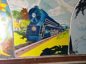 B&O Trail Tunnel murals