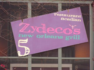 Zydeco's 5 - 11 East Main Street - Mooresville, Indiana