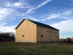 Thanks in part to some Farm to Table Fundraisers that will continue annually, the Cartlidge Barn has been moved an rebuilt at its new location at the Hendricks County 4-H Fairgrounds in Danville.