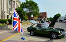 Just one of the British cars you'll find at the British Invasion Cruise-in on Saturday, August 31