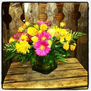 Flowered Occassions has some beautiful Mother's Day arrangements to chose from.