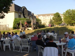 Music on the Veranda at Chateau Thomas Winery in Plainfield