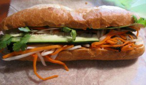 a Vietnamese sandwich from Pho 36