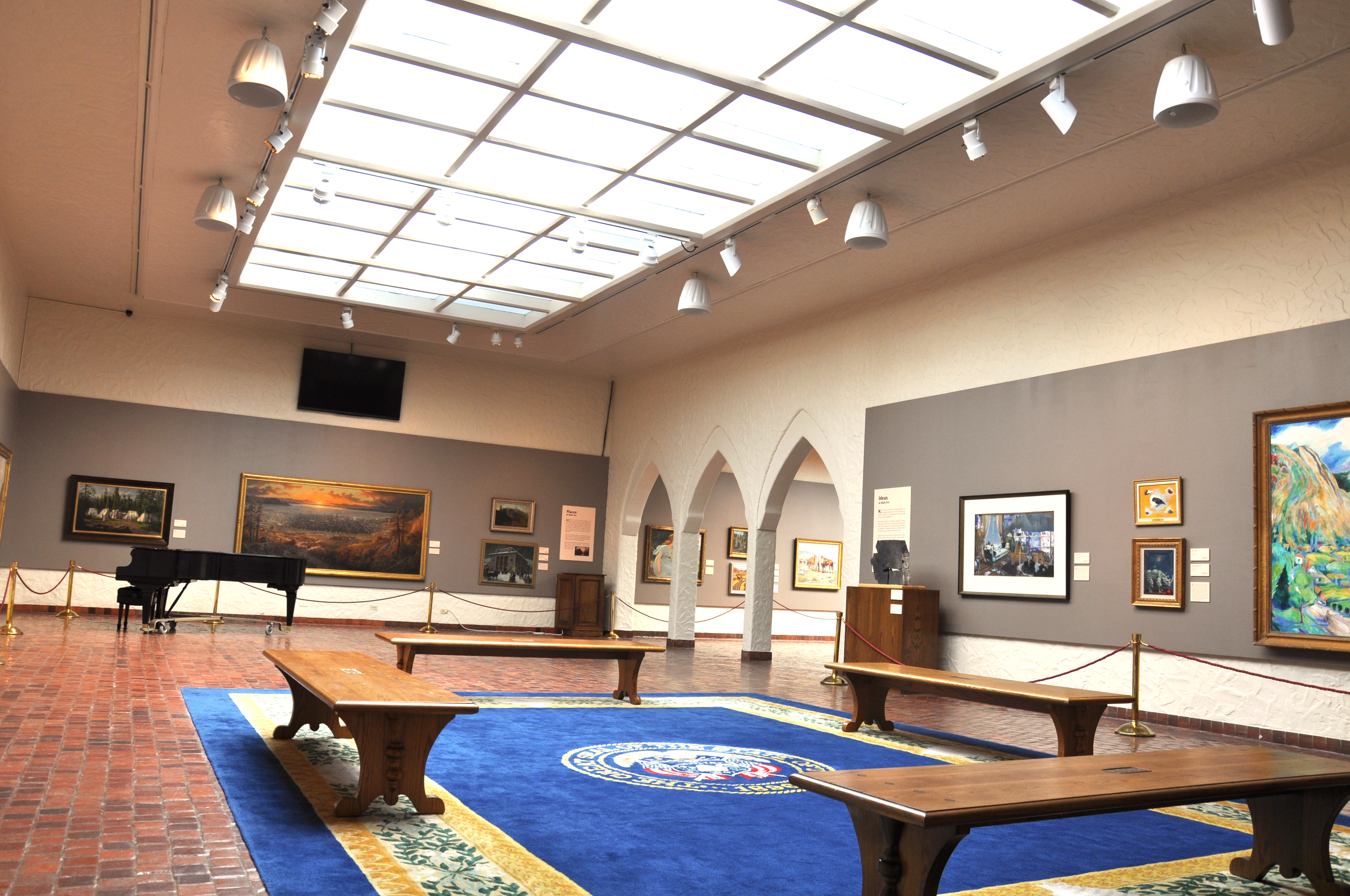 The Music Gallery at the Springville Museum of Art