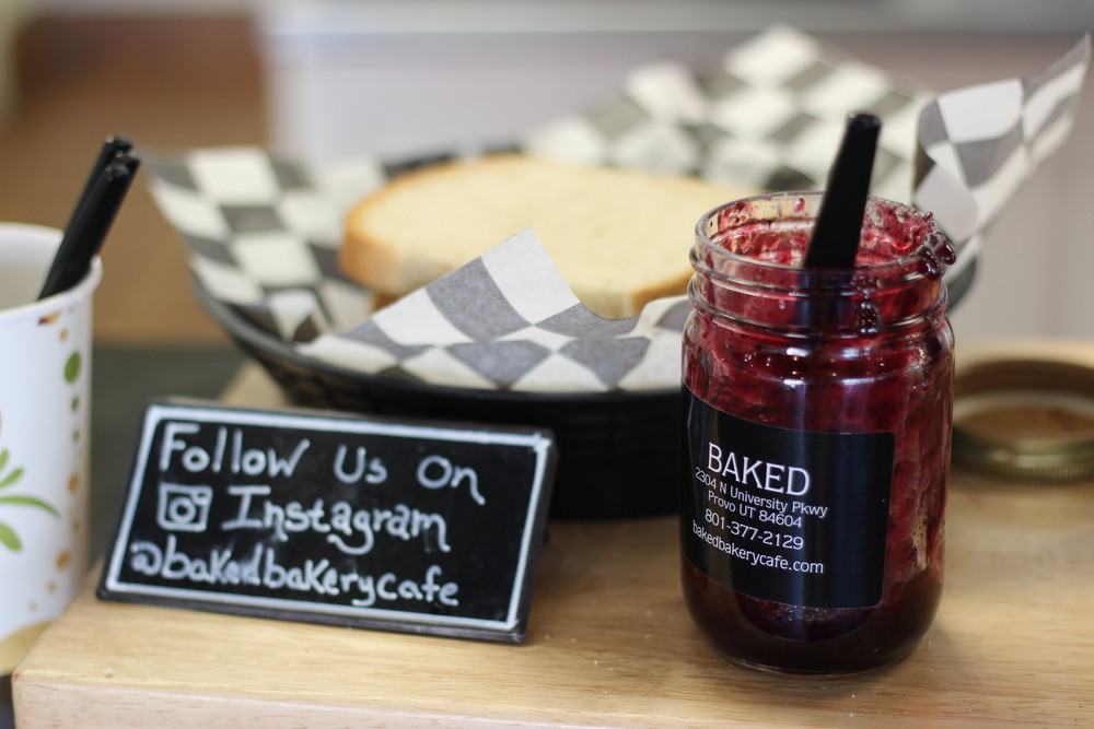 Bread and Jam at Baked