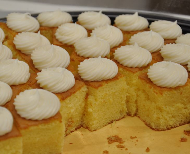 Lemon Bundt Cake Samples