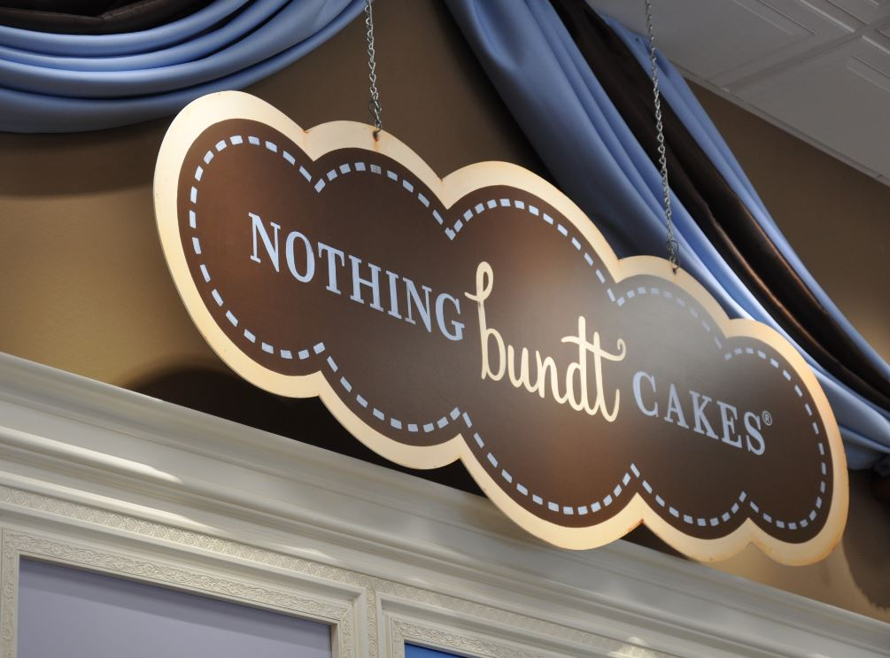 Nothing Bundt Cakes Sign