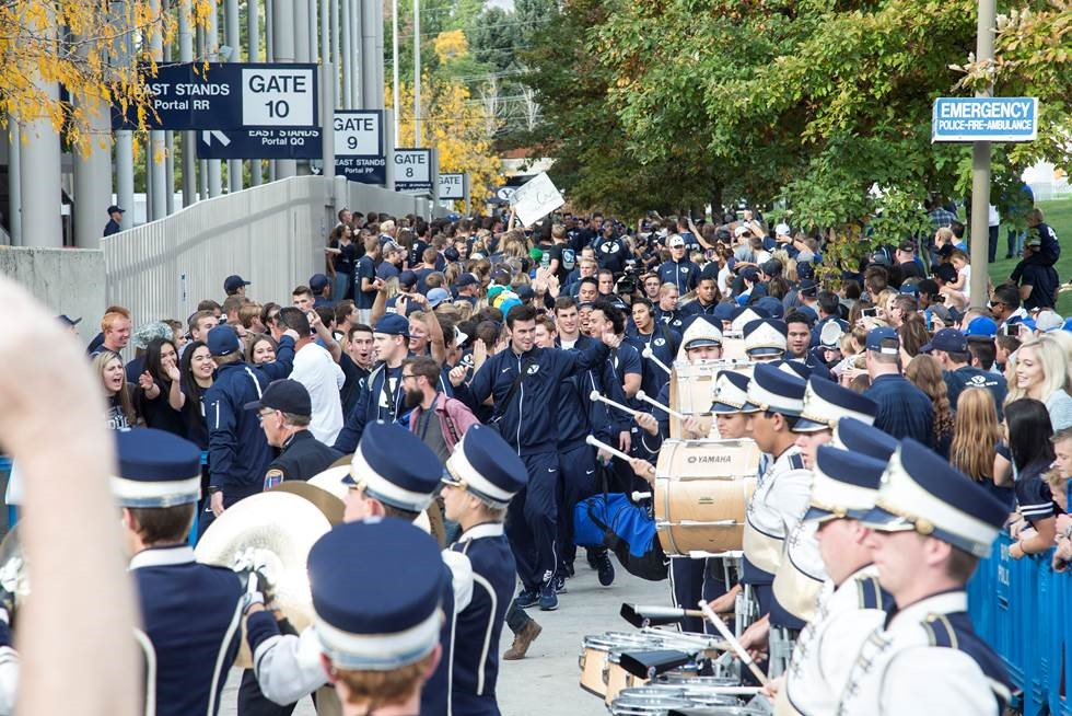 BYU Football Cougar Walk