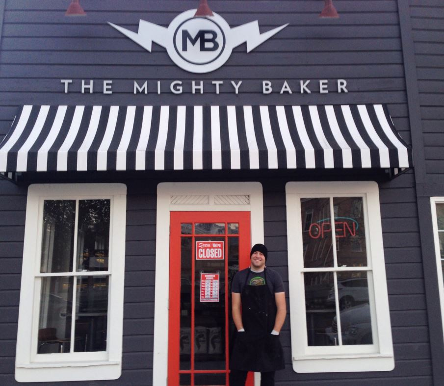 The Mighty Baker storefront in Provo