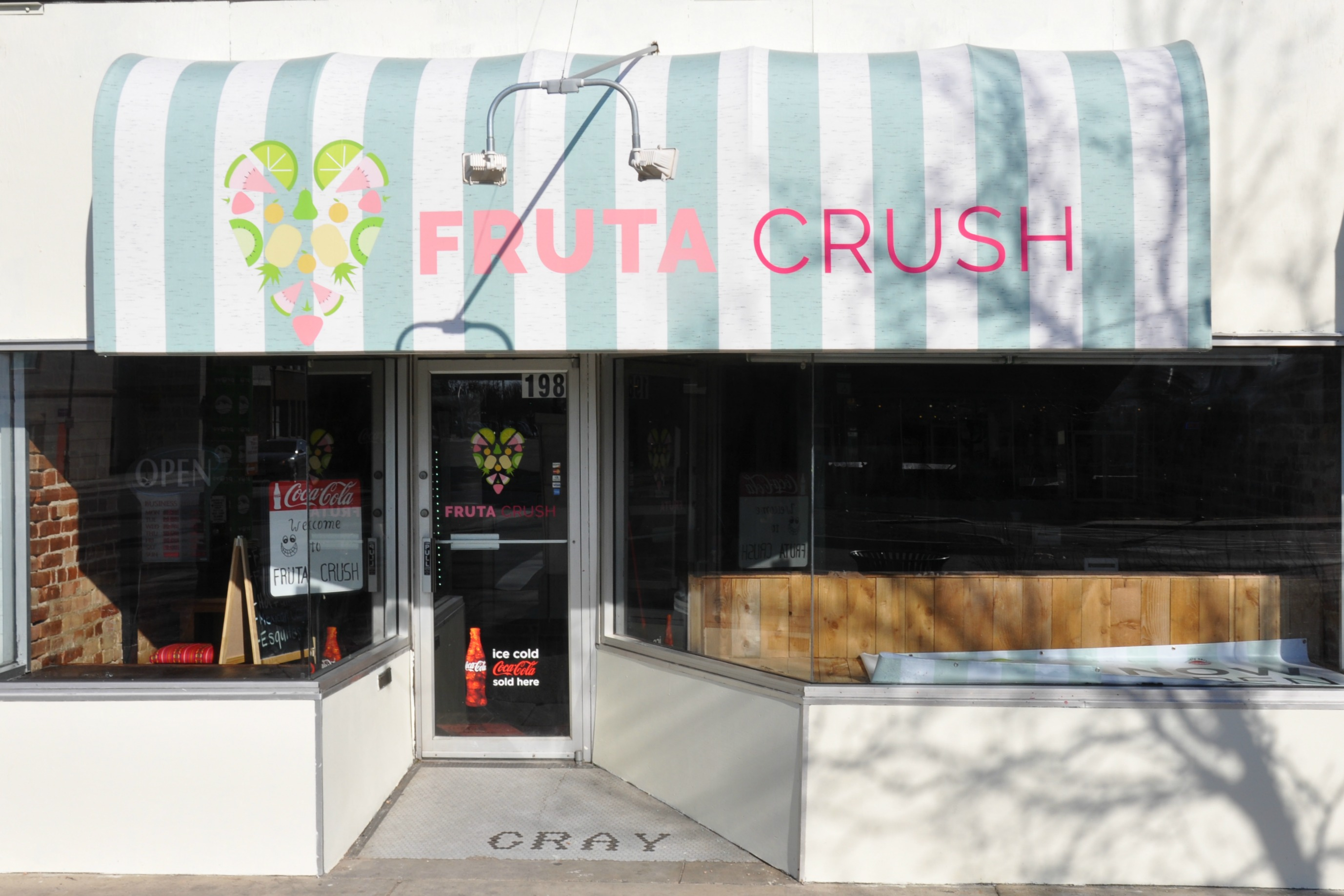 The Fruta Crush Storefront