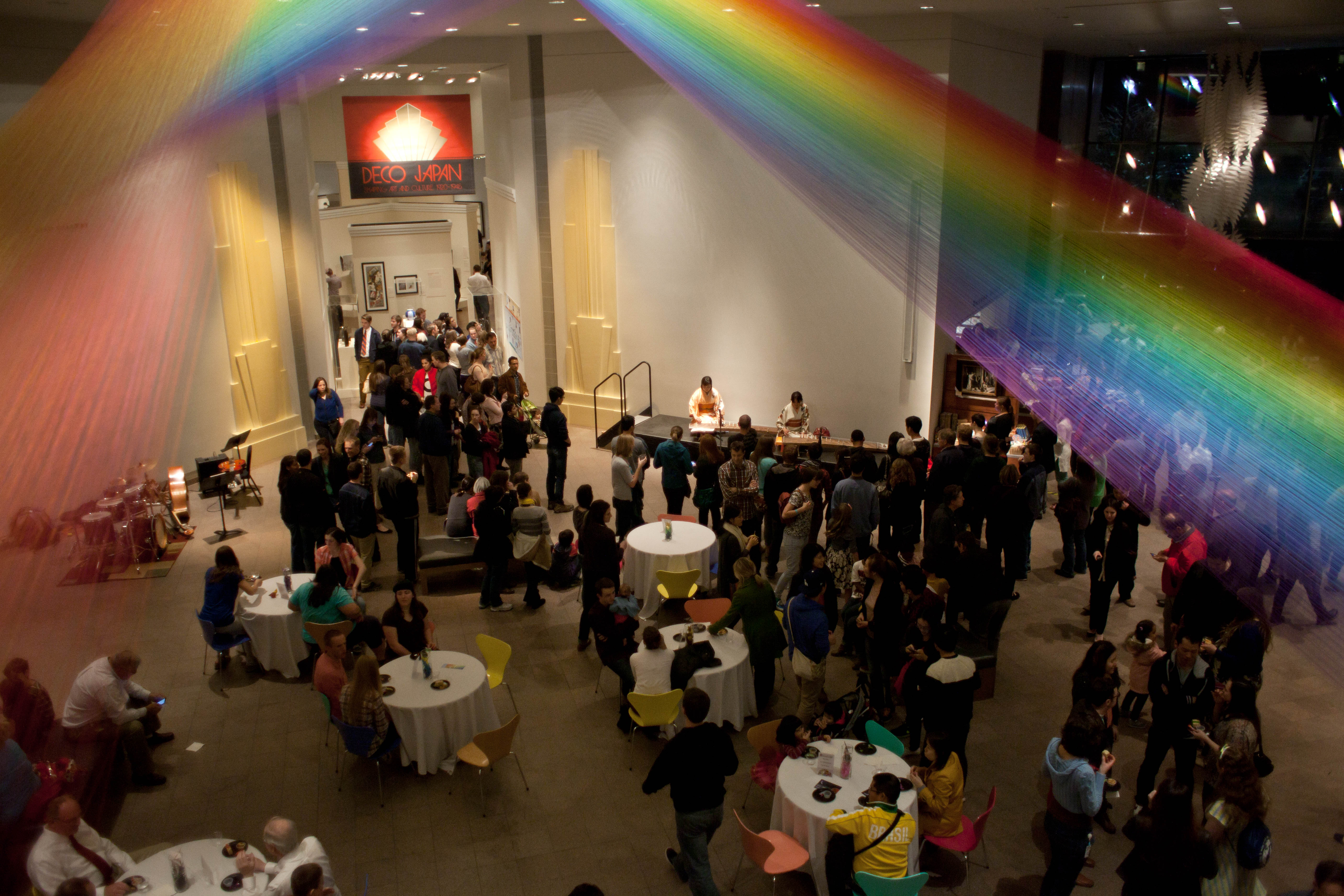 An event at the Museum of Art