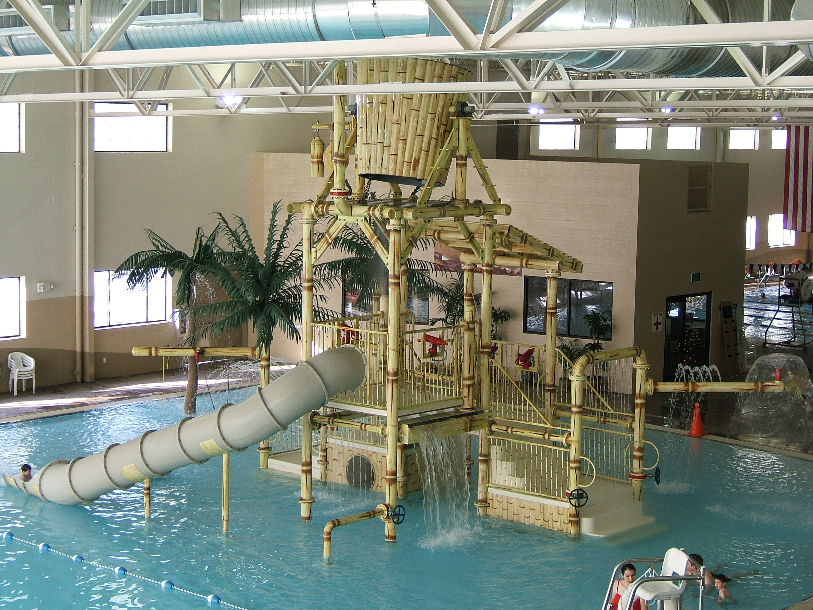 Legacy Pool tropical playground