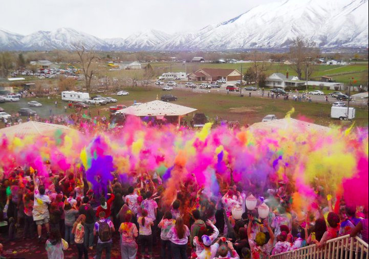 Festival of Colors in Spanish Fork