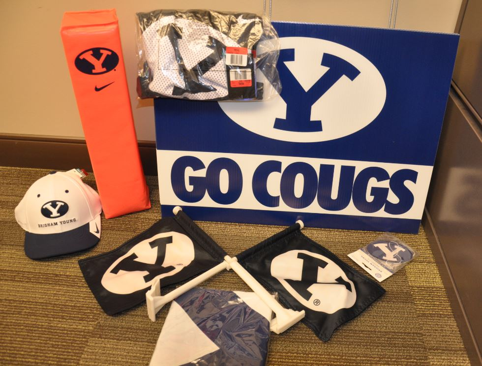 BYU Football Swag Bag
