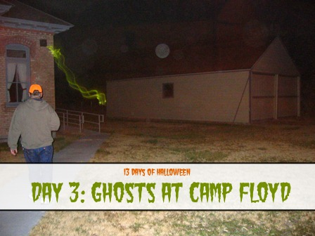 Day 3: Ghosts at Camp Floyd