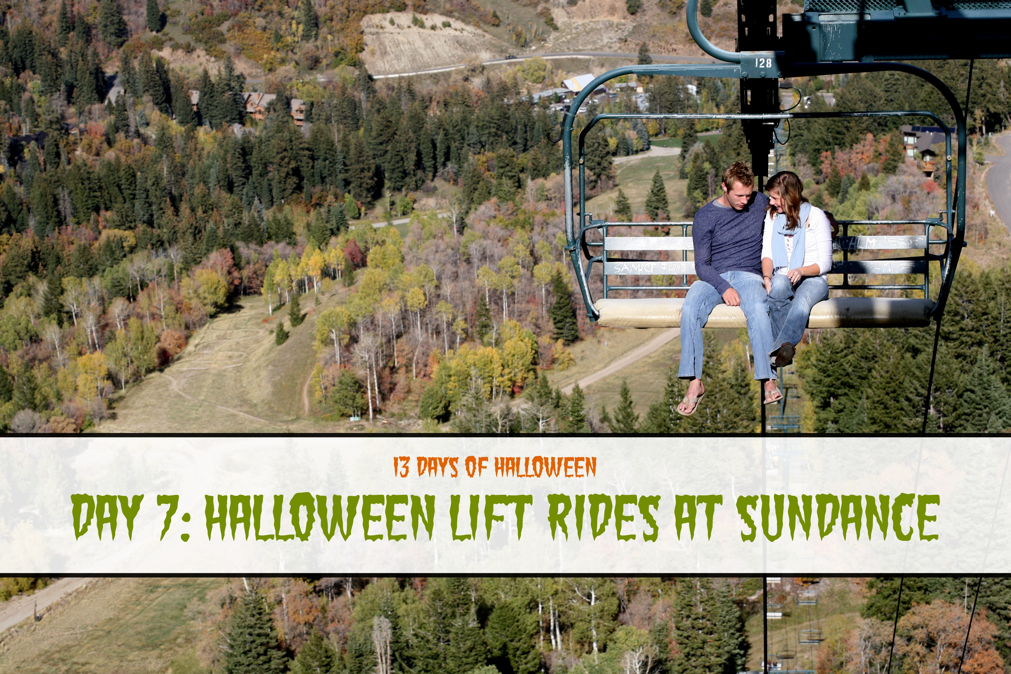 Day 7: Halloween Lift Ride